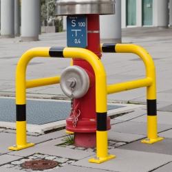 bescherming van waterkraan / brandweer