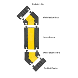 MORION cable bridge, large (4)